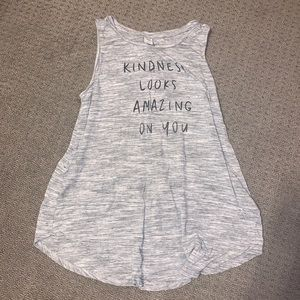 kindness looks amazing on you tank top